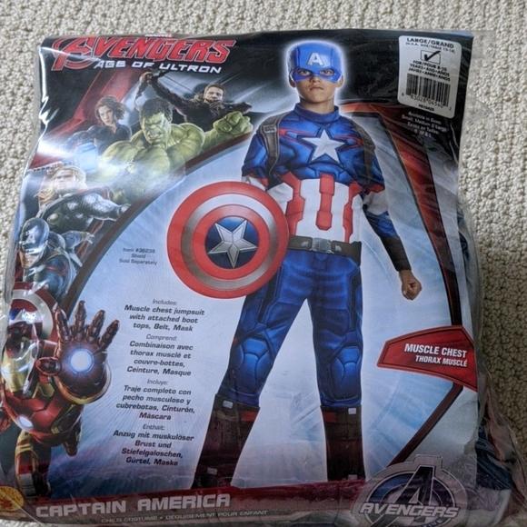 New Captain America costume Size L
